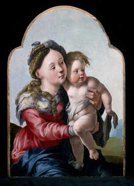Madonna met kind_Jan van Scorel
