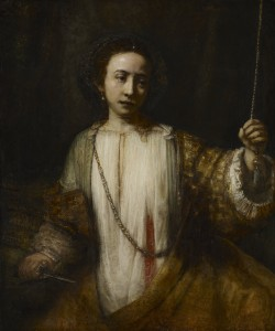 Lucretia, Rembrandt van Rijn, 1666 - Minneapolis Institute of Arts