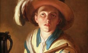 Fluitspeler Abraham Bloemaert