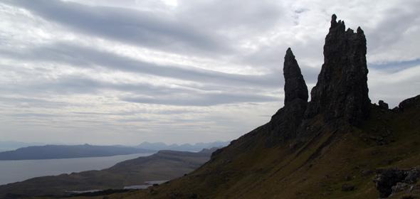 Old man of Stor, Isle of Skye, Scotland