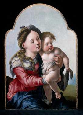Madonna met kind_Jan van Scorel