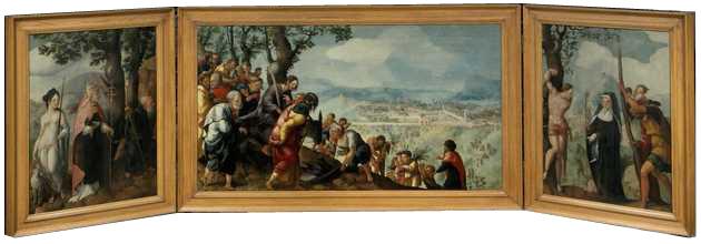 Lockhorst drieluik, Jan van Scorel, 1526-1527