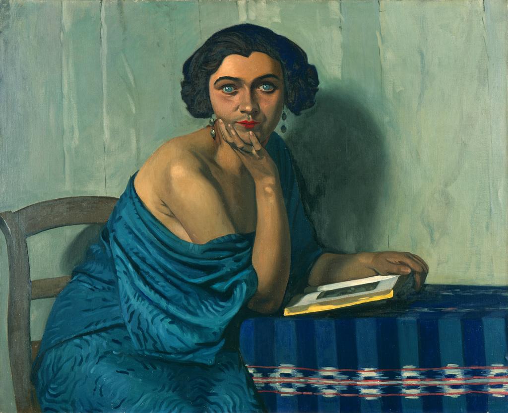 De terugkeer van de zee, Félix Vallotton, 1924