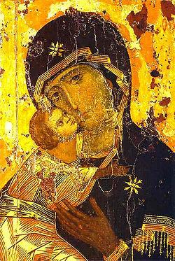 Moeder Gods van Vladimir, 1131