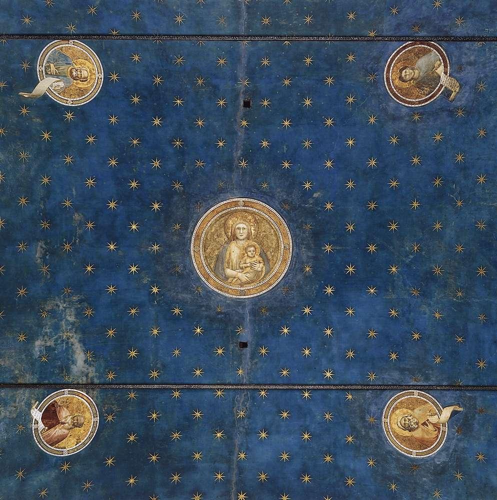 Plafond Scrovegni-kapel, Giotto, 1303-1305