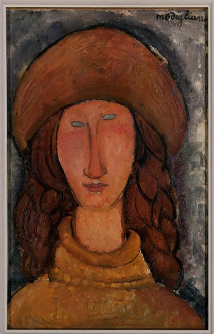 Jeanne Hébutèrne, Amedeo Modigliani, 1918